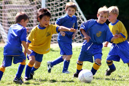 Soccer coaching for kids as well as rules and more